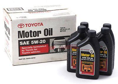 Genuine Toyota Non-Synthetic Oil