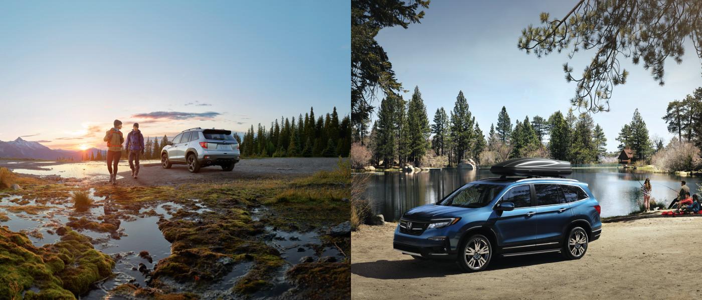 2019 Honda Passport vs Pilot Outdoors