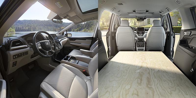 2019 Honda Odyssey interior and storage