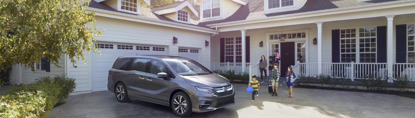 Brown 2019 Honda Odyssey near home