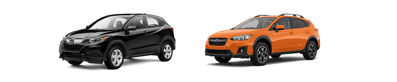 Comparing The Honda HR-V Against The Subaru Crosstrek In Little Rock
