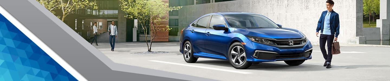 DCH Academy Honda, 2018 Honda Civic gray and blue