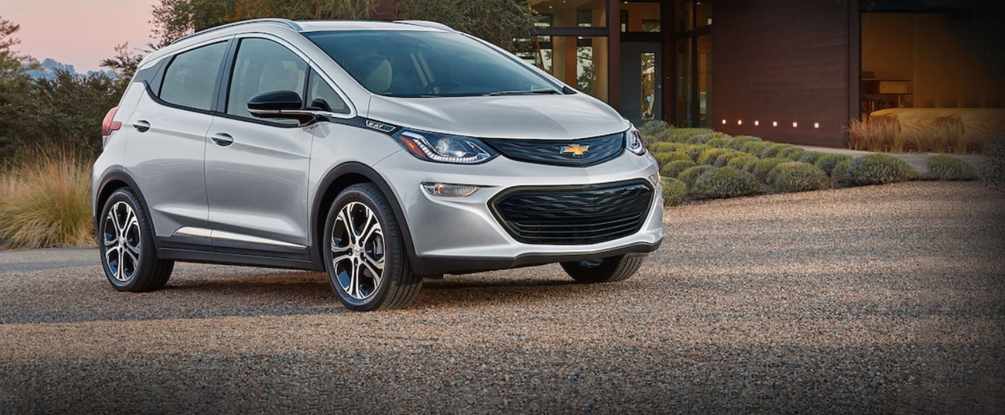 silver 2020 Chevy Bolt EV