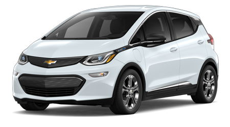 white 2020 Chevy Bolt EV
