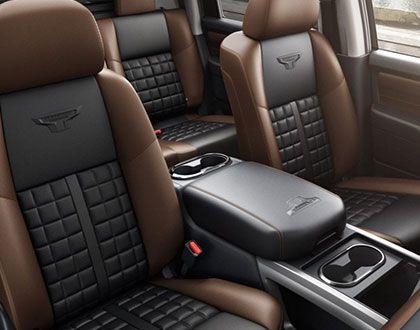 2019 Nissan Titan, interior