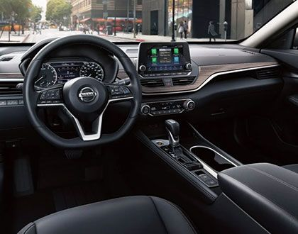 2019 Nissan Altima, interior