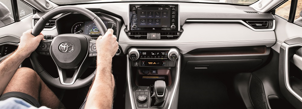 2019 Toyota RAV4 Interior Tech