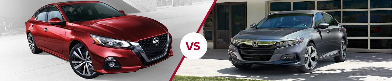 Comparing The 2019 Nissan Altima & Honda Accord In Fremont, CA
