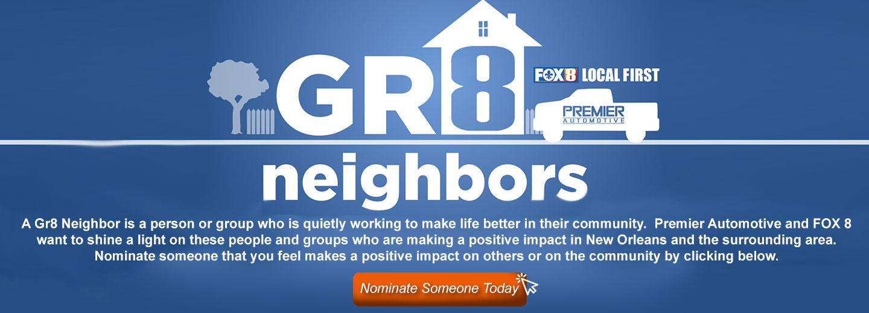 Premier Automotive Gr8 Neighbors