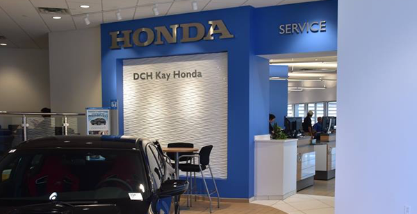 Photo of DCH Paramus Honda Service Center Waiting Room in Paramus NJ