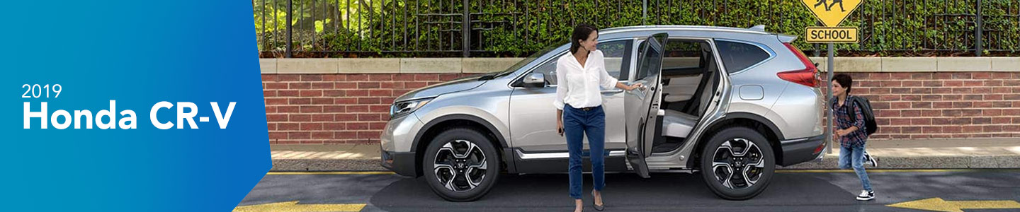 Step Up Your Road Game with the Bold 2019 Honda CR-V Today!