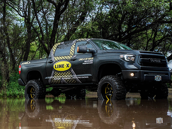 AMP Maui offers LINE-X products to protect from rust