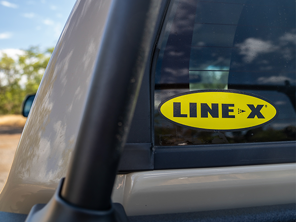 LINE-X bedlining available at AMP Maui