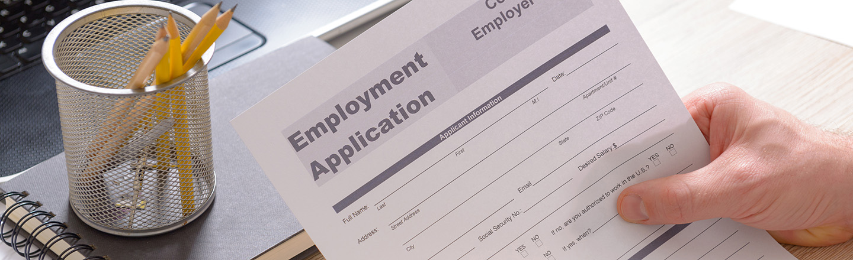 Employment Application Ardmore, OK