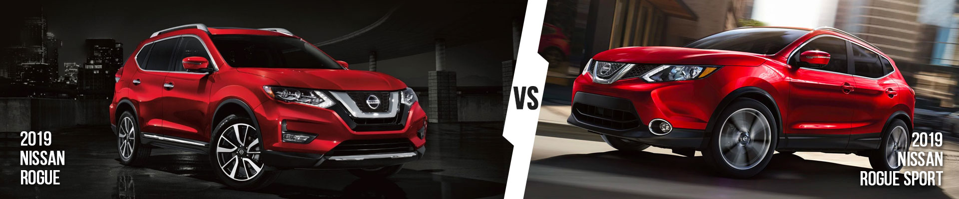 Compare The 2019 Nissan Rogue And Rogue Sport Near Cape Coral, FL