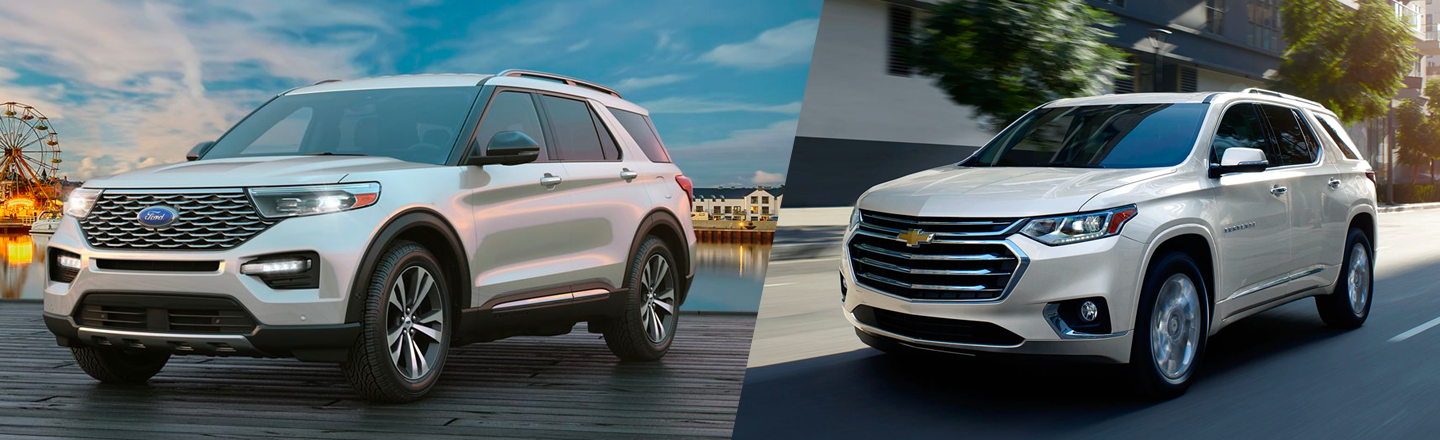 Advantages Of Chevrolet Traverse Over Ford Explorer In Loganville, GA
