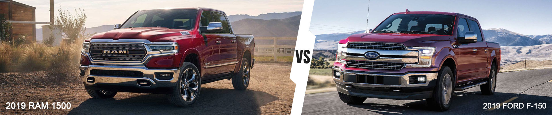 Comparing The 2019 Ram 1500 Pickup To The 2019 Ford F-150 Pickup
