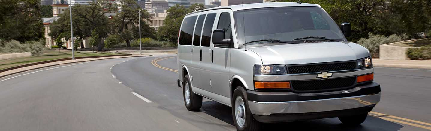 When You Have People to Move, Trust the 2019 Express Passenger Van