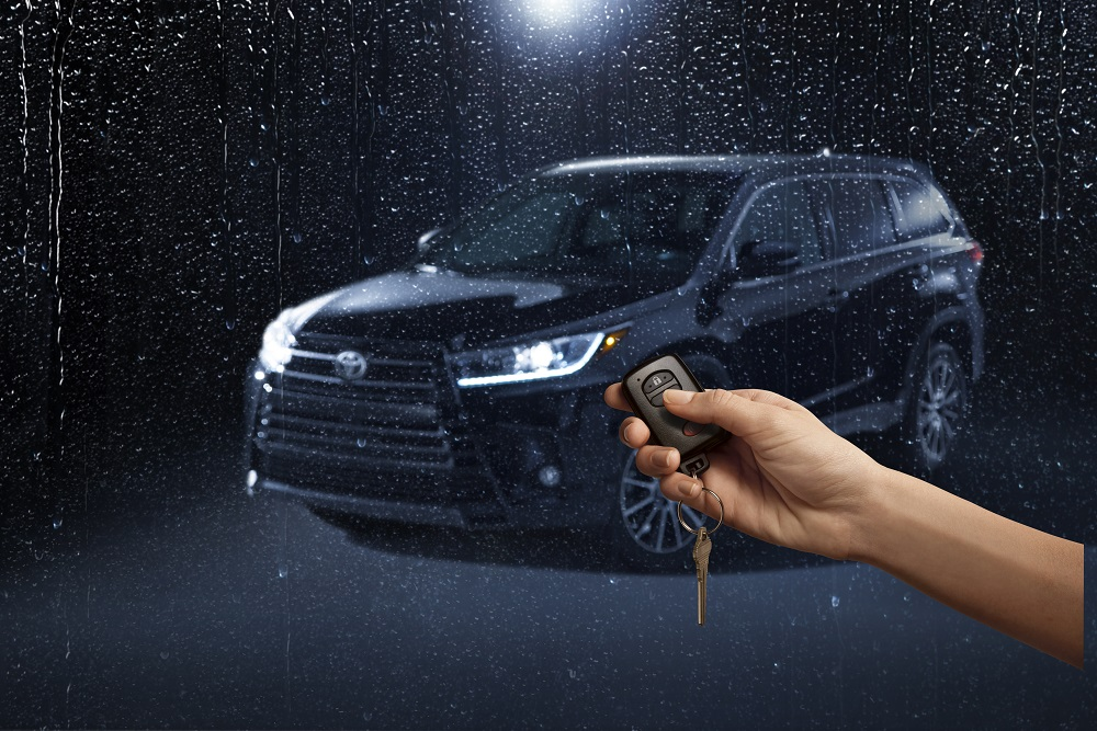 Toyota Engine Start/Stop