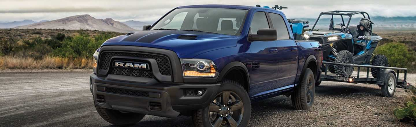 Always Say Yes to Adventure When You're in an All-New 2019 RAM 1500