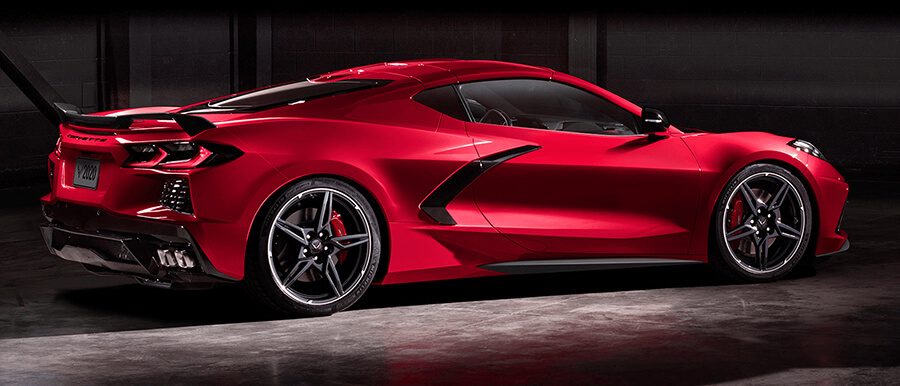 2020 Chevrolet Corvette Stingray side View