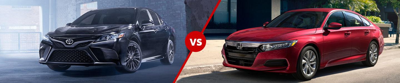 The 2020 Toyota Camry versus the 2020 Honda Accord