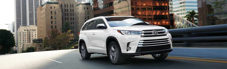 Explore The 2019 Toyota Highlander Hybrid SUV In St. George, Utah