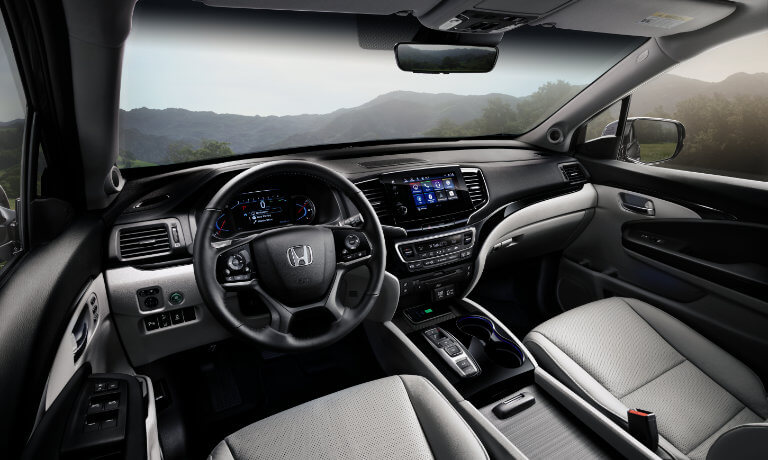 Honda Pilot interior features