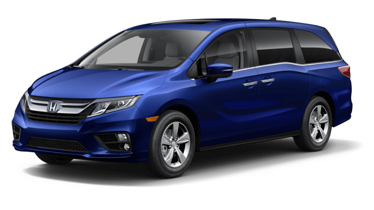 2019 Honda Odyssey Obsidian Blue Pearl