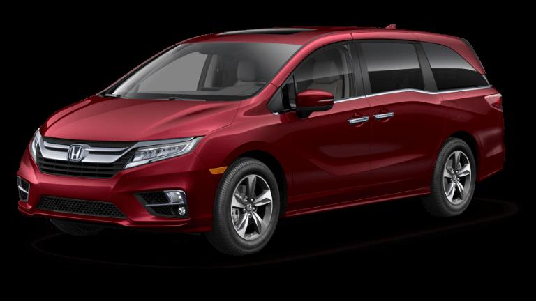 2019 Honda Odyssey Deep Scarlet Pearl
