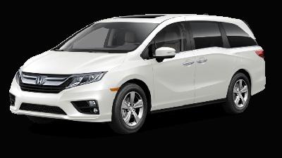 White 2019 Honda Odyssey EX-L