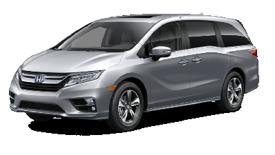 Silver 2019 Honda Odyssey Touring