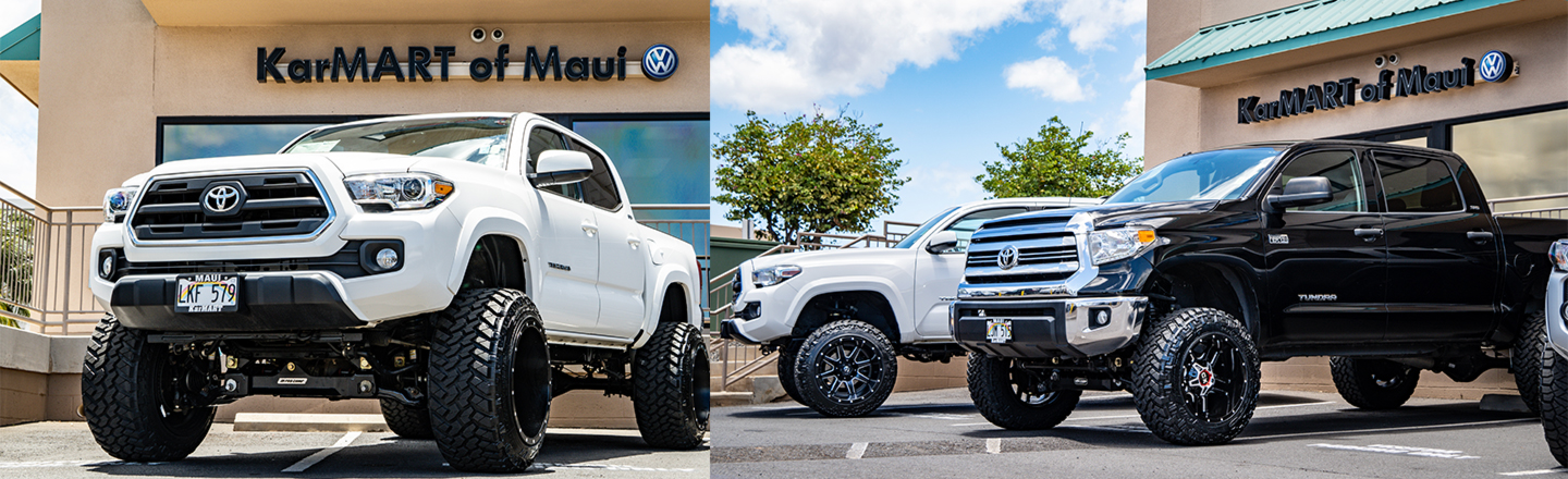 Discover the Benefits of Driving a Custom Lifted Truck in Maui, HI
