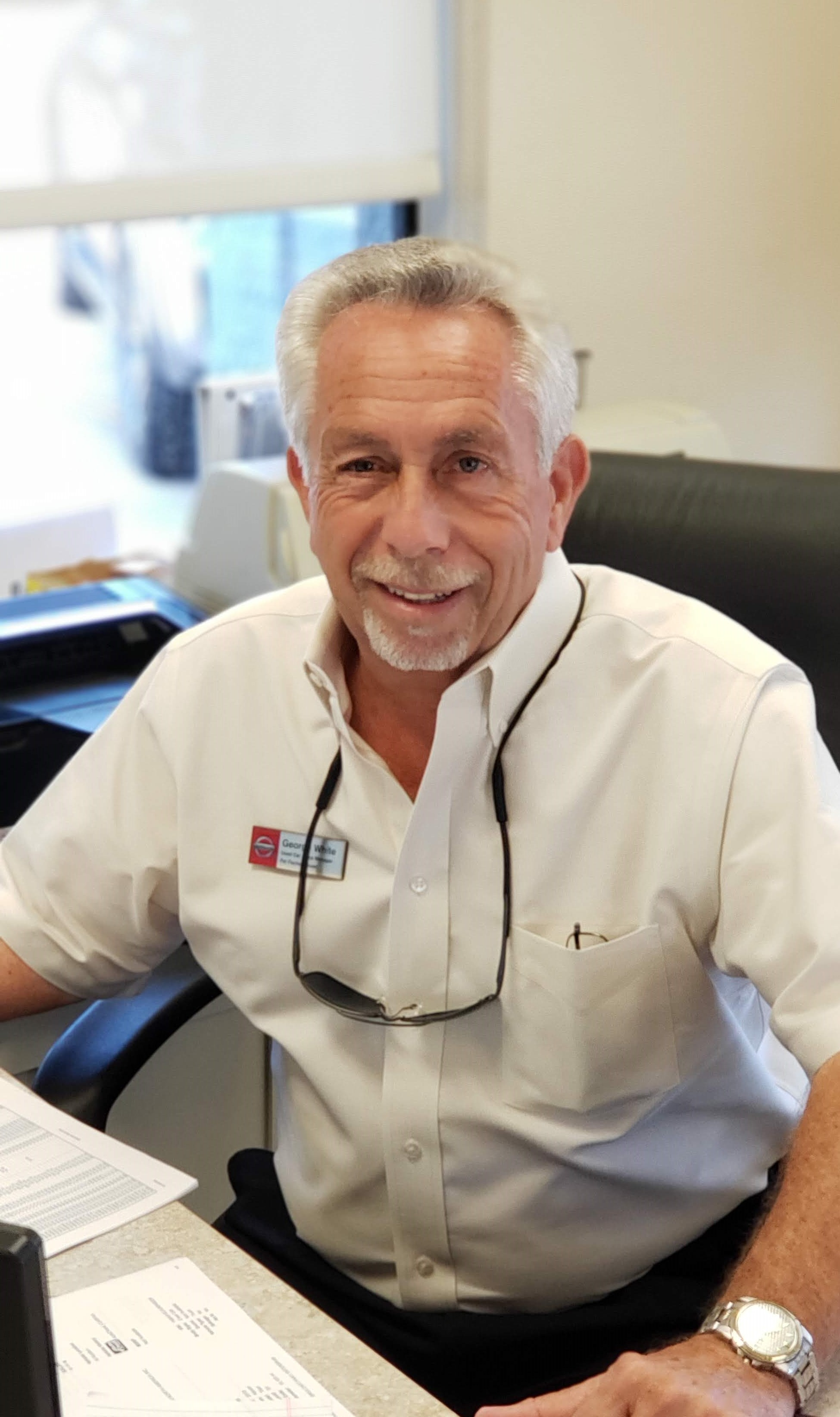 George White Bio Image