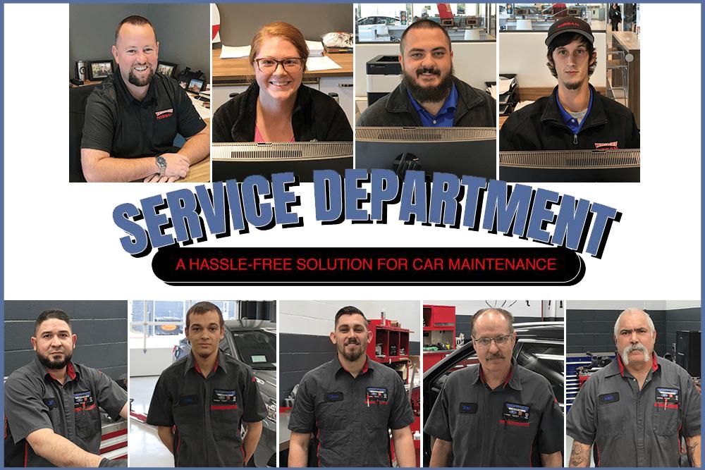 Waxahachie Nissan Service Team