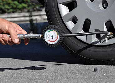 Indirect Tire Pressure Monitoring System