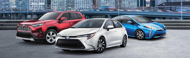 2020 Toyota lineup
