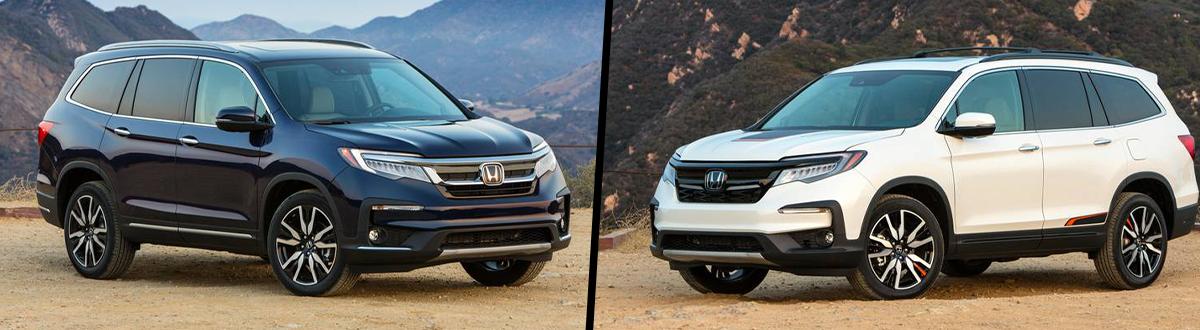 2020 Honda Pilot vs 2019 Honda Pilot