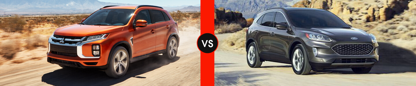 SUV Comparison: 2020 Mitsubishi Outlander Sport Vs. 2020 Ford Escape