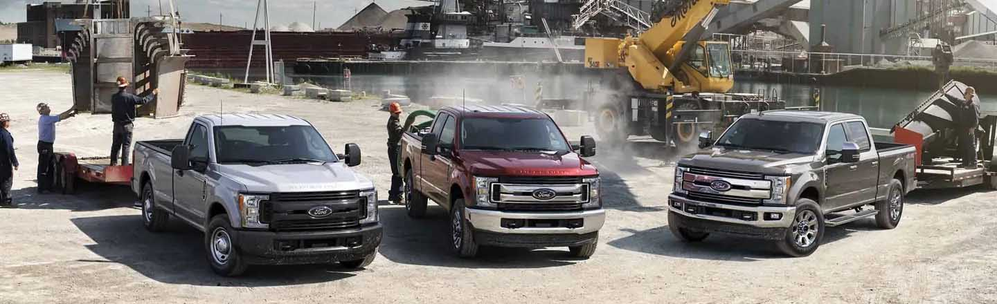 More Power. More Strength. More Durability. The 2019 Ford Super Duty