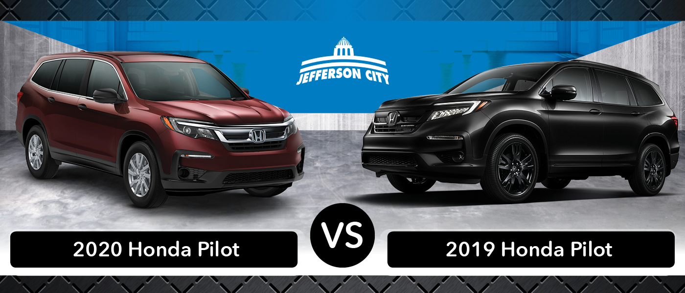 2020 Honda Pilot Vs 2019 Honda Pilot What S New