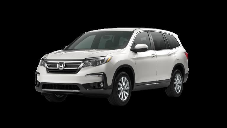 2020 Honda Pilot EX White