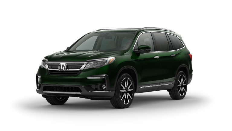 2020 Honda Pilot Touring Green