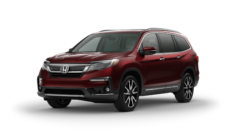 2020 Honda Pilot Elite Red