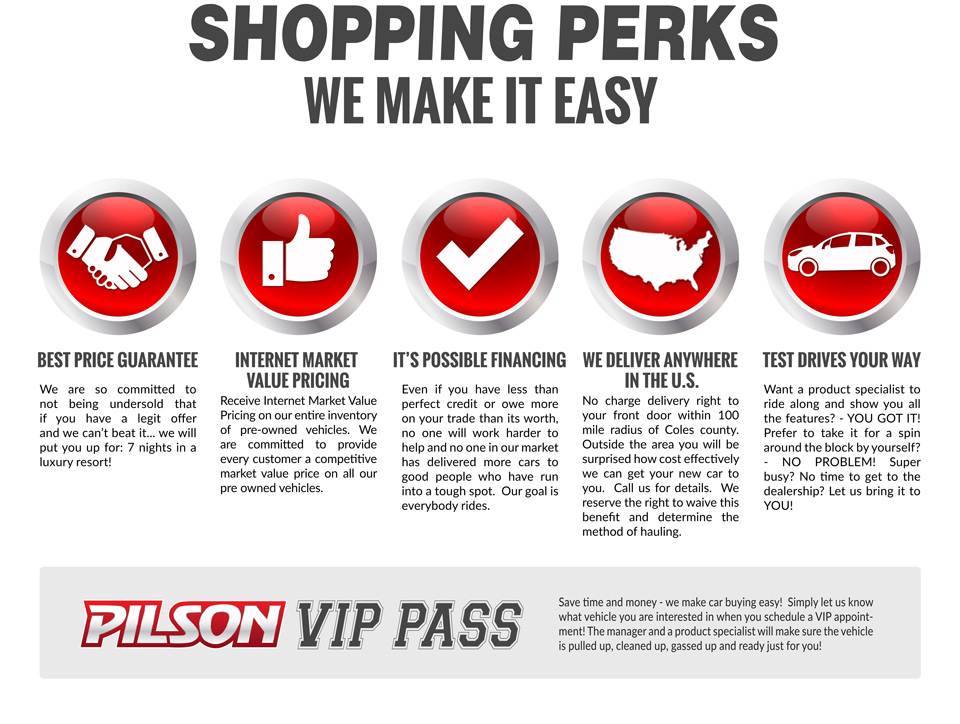 shopping perks we make it easy