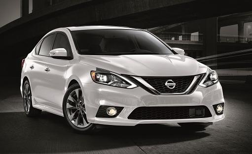White Nissan Sentra