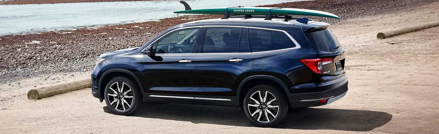 Exterior of the 2020 Honda Pilot - available at our Honda dealership near Fort Myers, FL.
