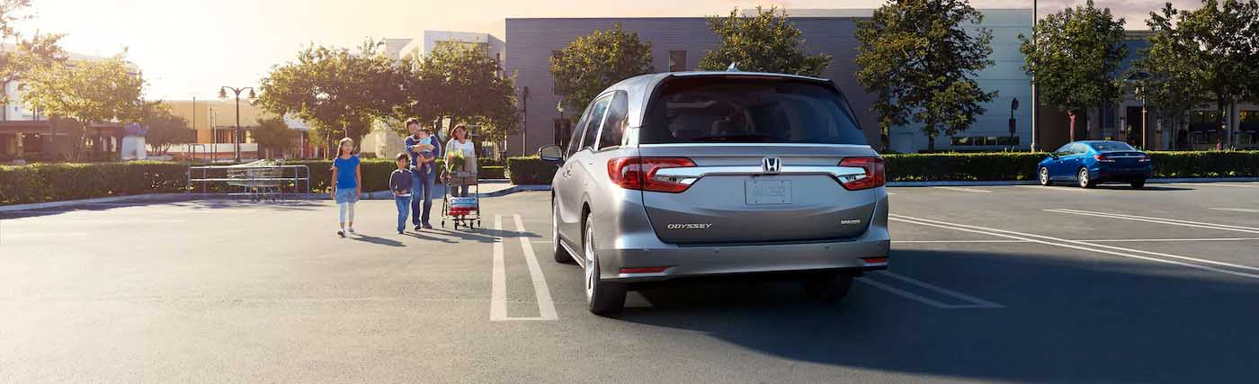 Exterior of the 2020 Honda Odyssey - available at our Honda dealership near Fort Myers, FL.