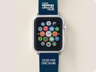 Western Washington Honda branded Apple Watch