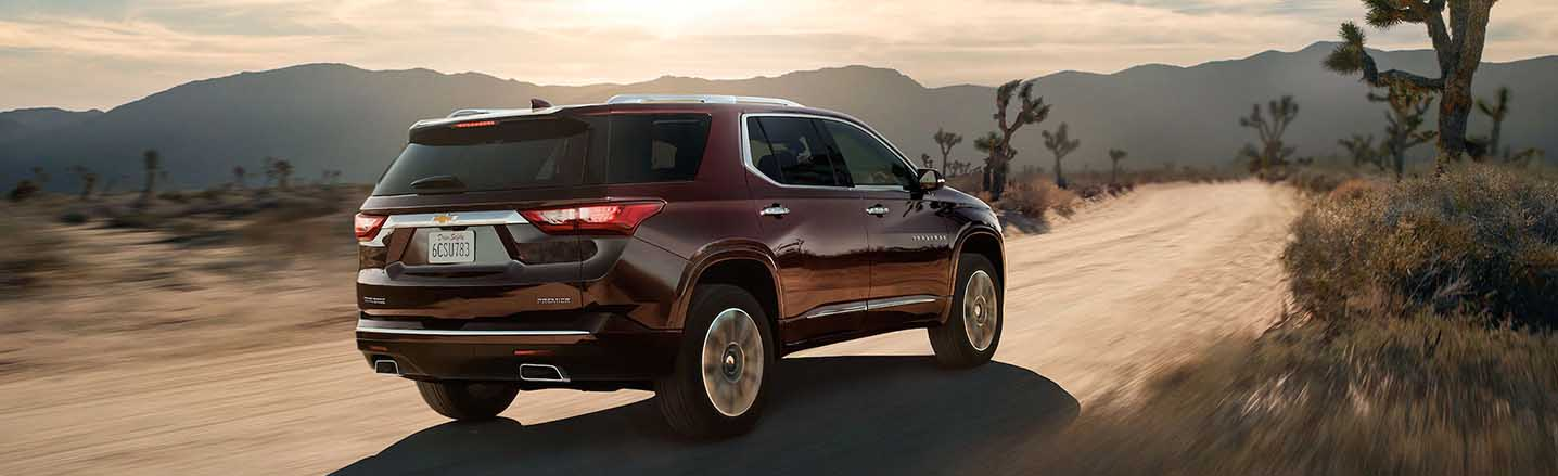 The 2019 Chevy Traverse Offers Relaxed Seating for Up to 8 Passengers
